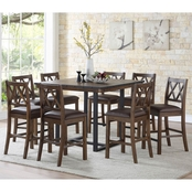 Steve Silver Lori 9 pc. Counter Dining Set