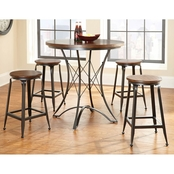 Steve Silver Adele 5 pc Counter Height Set