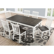 Steve Silver Joanna Two Tone 7 pc. Dining Set