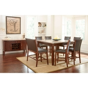 Steve Silver Eileen 9 pc. Counter Dining Set