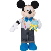 Easter Greeter-Mickey w/Floral Suspenders-OPP-Disney