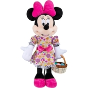 Easter Greeter-Minnie in Pink Flower Dress-OPP-Disney
