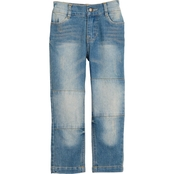 Gumballs Toddler Boys Stretch Denim Jeans with Knee Seams