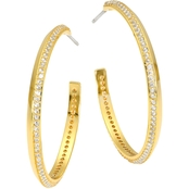 Kate Spade Pave Hoop Earrings
