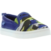 Oomphies Boys Rascal Slip On Sneakers
