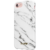 LAUT Design Huex Elements Case for iPhone 8/7/6s/6, Marble White