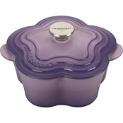 Le Creuset Flower Cocotte with Stainless Steel Knob, Provence