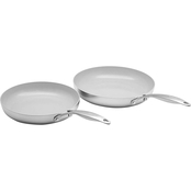 GreenPan Venice Pro 10 in. and 12 in. Ceramic Non Stick Open Frypan Set
