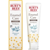 Burts Bee's Enamel Care Mountain Mint Toothpaste 4.7 oz.