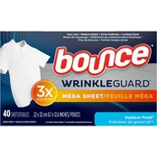 Bounce Wrinkle Guard Mega Sheets Outdoor Fresh