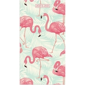TF Publishing 2020-2021 Tropic Flamingo 2 Year Small Monthly Planner