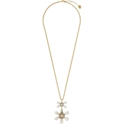 Vince CamutobGoldtone Statement Pendant