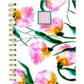 2020 Pretty Petals Medium Weekly Monthly Planner
