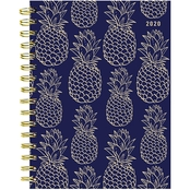 TF Publishing 2020 Navy Pineapple Medium Weekly Monthly Planner