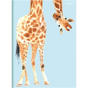 TF Publishing 2020 Jazzy Giraffe Medium Monthly Planner