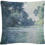 Trademark Fine Art Branch of The Seine Decorative Throw Pillow