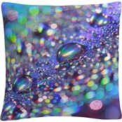 Trademark Fine Art Colours of Rainbow Decorative Throw Pillow