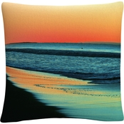 Trademark Fine Art Good Morning Sunshine Decorative Throw Pillow
