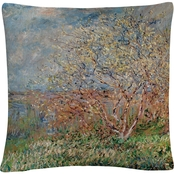 Trademark Fine Art Spring 1880 Decorative Throw Pillow