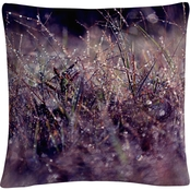 Trademark Fine Art Purple Rain Decorative Throw Pillow
