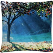 Trademark Fine Art Rays of Hope Decorative Throw Pillow