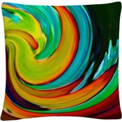 Trademark Fine Art Crashing Wave Decorative Throw Pillow