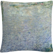 Trademark Fine Art Waterlillies Morning II Decorative Throw Pillow