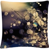 Trademark Fine Art Fairies in my Garden Decorative Throw Pillow
