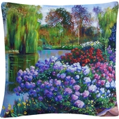 Trademark Fine Art Promise of Spring Decorative Throw Pillow