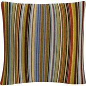Trademark Fine Art Comfortable Stripes VII Decorative Throw Pillow