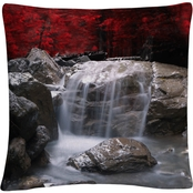 Trademark Fine Art Red Vison Decorative Throw Pillow