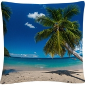 Trademark Fine Art Martinique Decorative Throw Pillow