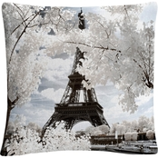 Trademark Fine Art Another Look at Paris IV Decorative Throw Pillow