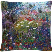 Trademark Fine Art Garden In Maui II Decorative Throw Pillow