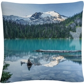 Trademark Fine Art Natural Beautiful British Columbia Decorative Pillow