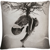 Trademark Fine Art Tree of Life Decorative Throw Pillow