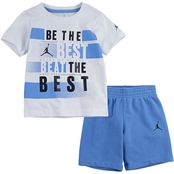 Jordan Infant Boys Best 2 pc. Tee and Pool Shorts Set
