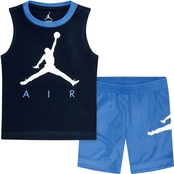 Jordan Infant Boy Jumpman Air Muscle Short Set