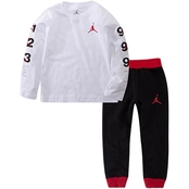 Jordan Infant Hazard LS Tee and Jogger Set