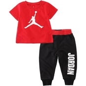 Jordan Infant Boys Speckle 23 2 pc. Tee and Joggers Set