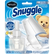 Renuzit Snuggle 2pc Starter Kit Oil Linen Escape