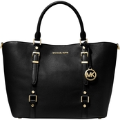 MICHAEL KORS WOMEN'S BEDFORD LEGACY LEATHER TOTE BLACK