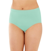 Bali Comfort Revolution Seamless Hi Cut Briefs