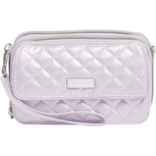 Vera Bradley All in One Crossbody, Lavender Pearl