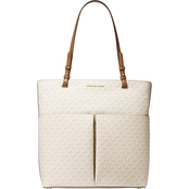 Michael Kors Bedford Large North South Signature Tote