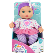 New Adventures Little Darlings Baby Kisses 11 in. Doll