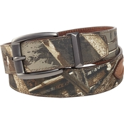 Realtree Camouflage Leather Belt