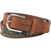 Realtree Leather Belt