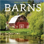 TF Publishing 2020 Barns Wall Calendar