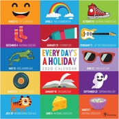 TF Publishing Everyday's A Holiday Wall Calendar